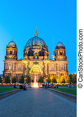 Berlin Cathedral church (Berliner Dom), Berlin, Germany -...