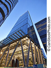 Modern architecture City of London the leading centre of...