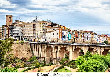 La Vila Joyosa - Picturesque view of La Vila Joyosa town,...
