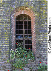old window of the castle