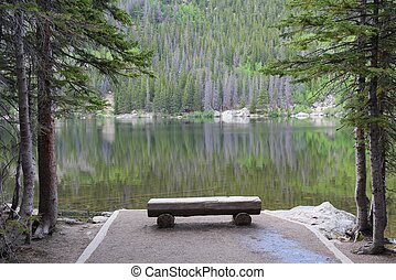 Bear Lake, Rocky Mountains - Rocky Mountain National Park in...