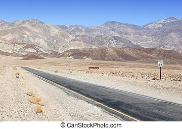 Death Valley - Mojave Desert in California, United States...