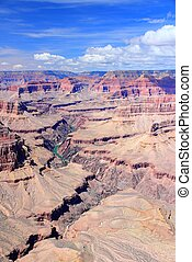 Grand Canyon National Park in Arizona, United States...