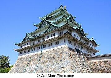 Nagoya Castle - Nagoya, Japan - city in the region of Chubu...