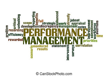 Performance Management Word Cloud