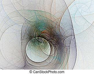 abstract pinwheel