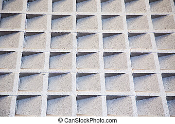 Cement accoustic wall - Cement baffles on a wall improving...