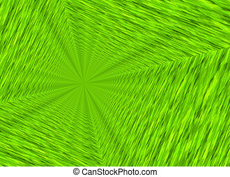 vanishing point perspective of freshness green backgrounds