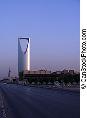 Ar Riyadh at sunset (Saudi Arabia)