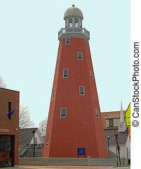 Portland Observatory Lighthouse, Portland Maine USA