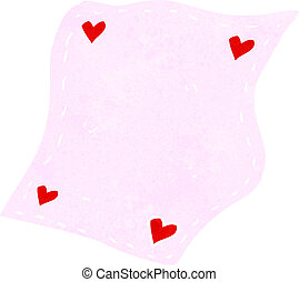 cartoon handkerchief