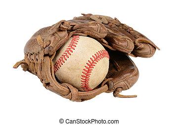 Baseball Glove Closeup