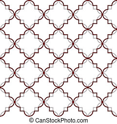 Moroccan pattern - Moroccan style seamless pattern