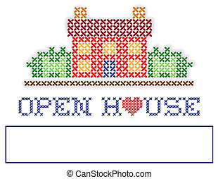 Real Estate Open House Yard Sign - Open House real estate...