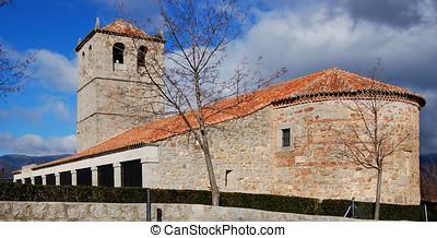 średniowieczny, kościół
