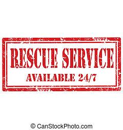 salvamento, Service-stamp
