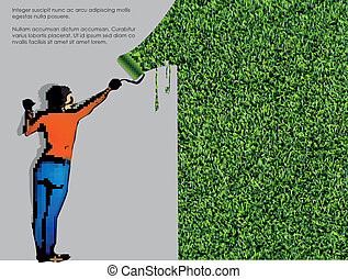 ecological concept of grass