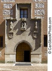 La Mota Castle in Valladolid. Spain - Chapel in La Mota...