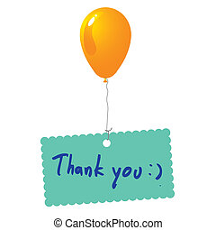 Thank you card vector - image of Thank you card vector...