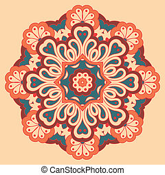 Arabesque. Decorative element. - Arabesque. Decorative...