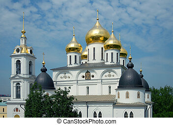 Cathedral of the Assumption in Dmitrovs kremlin - Cathedral...