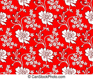 Seamless textile design background