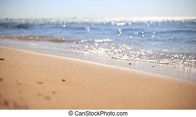 Sea shore - Sea beach, sea and sand