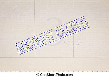 Saving account passbook, book bank