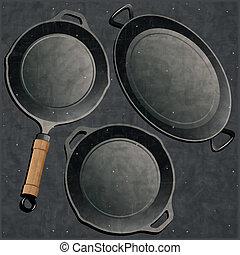 Cookware set.