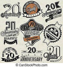 Vintage 20 anniversary collection - Twenty anniversary...