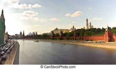MOSCOW, RUSSIA - 26 May 2014: St Basil's Cathedral. Kremlin, Red Square in Moscow, Russia.