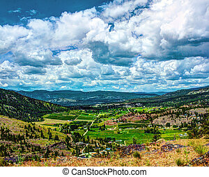 Summerland British Columbia - Landscape image taken from...