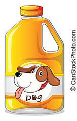 A galon of dog soap