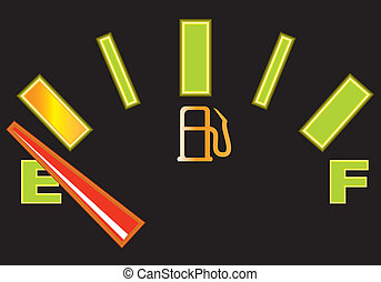 Fuel Gauge - fuel gauge illustration clip-art eps vector