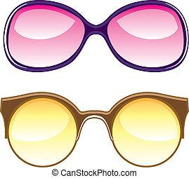 Lenses - lenses vector illustration clip-art eps
