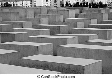Jewish Holocaust Memorial, Berlin, Germany