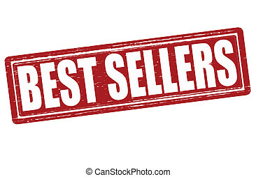 Best sellers - Stamp with text best sellers inside, vector...