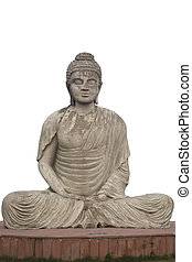 Buddha Statue at Garden of Silence - Statue of Buddha at the...