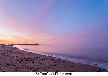 Ocean beach at the crack of dawn - Ocean beach Lawrencetown...