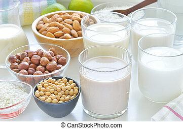 differente, vegan, latti