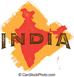 Vintage India Country Design - Vintage Style India Country