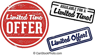 Limited Offer Special Stamp
