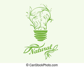 icon green energy abstract, backdrop, background, banner