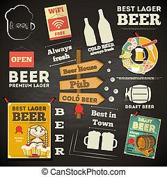 Beer Menu chalkboard design
