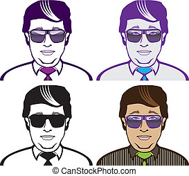 Business Men - business men illustration clip-art eps vector