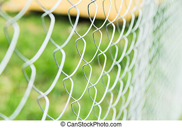 fence - durable construction fence in the country