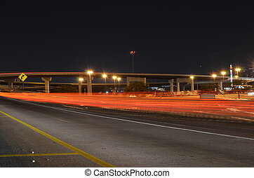 HWY Fore - Highway at night