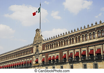 Presidential palace,mexico city - Palacio Nacional govenment...