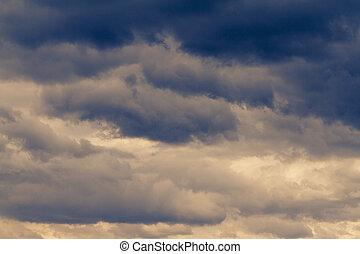 ciel, nuageux