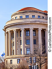 US Federal Trade Commission FTC Flag Washington DC - US...